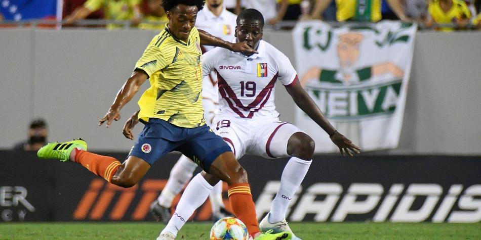 ¿Cómo le ha ido a la Selección Colombia contra Venezuela por Eliminatorias?
