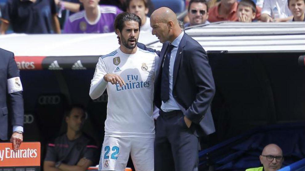 La crítica de Isco a Zidane