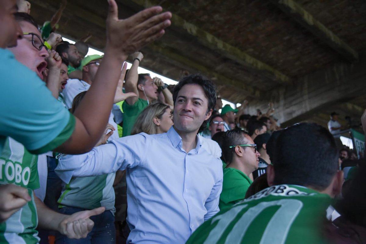 La reacción del alcalde Quintero con Independiente Medellín