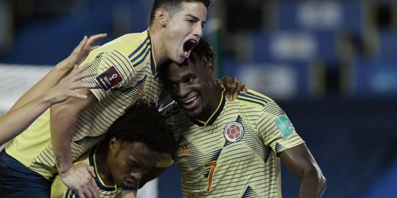 Colombia ganó a lo Queiroz