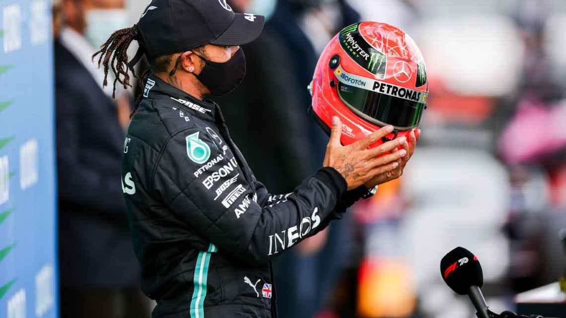 Hamilton: a la altura de Schumacher