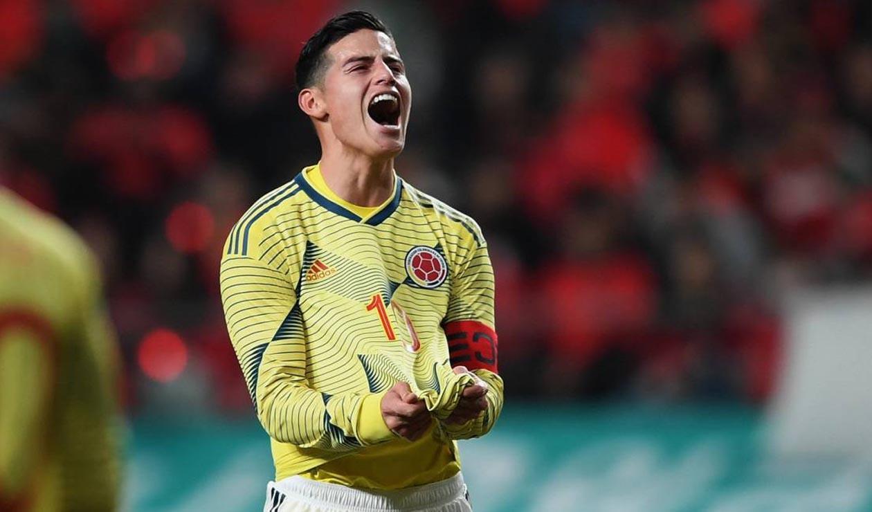 James Rodríguez: a romperla también en la selección