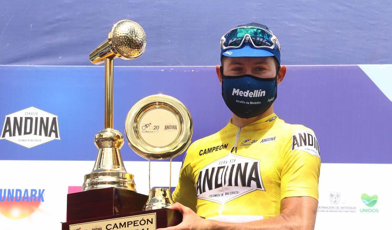 Ciclismo: Tito Hernández campeón del Clásico RCN