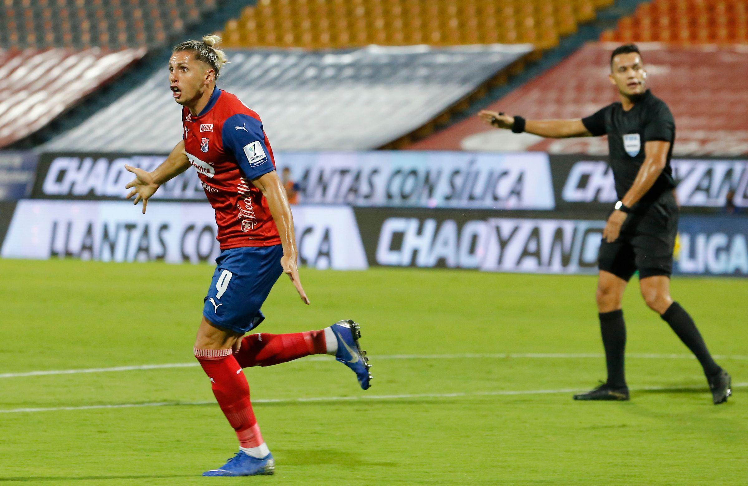 Agustín Vuletich y el anhelo de su primera final con el Deportivo Independiente Medellín