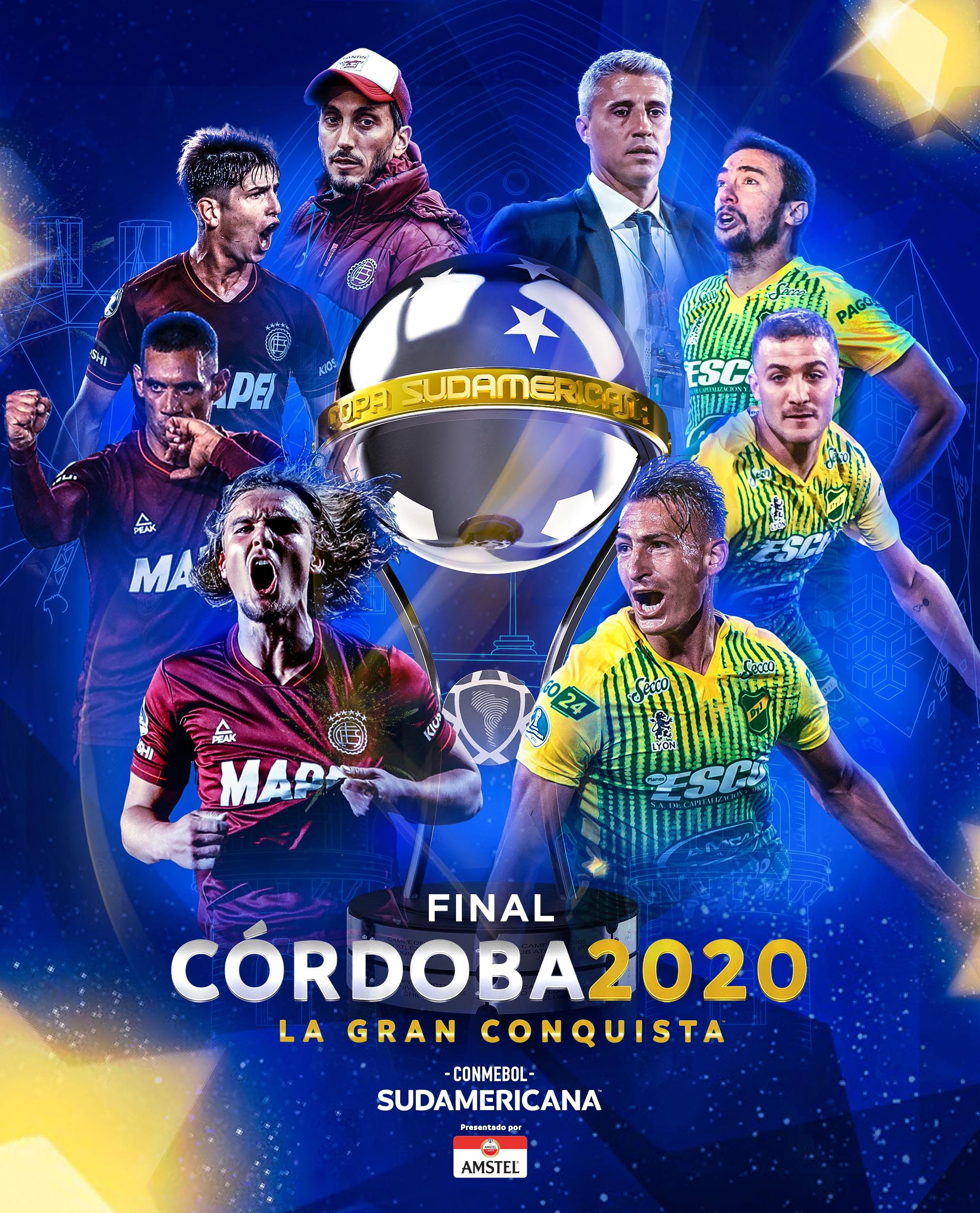 LA CONMEBOL SUDAMERICANA SE QUEDA EN ARGENTINA
