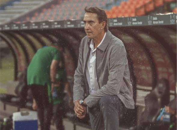 Guimarães habló luego de la victoria de Nacional ante Santa Fe