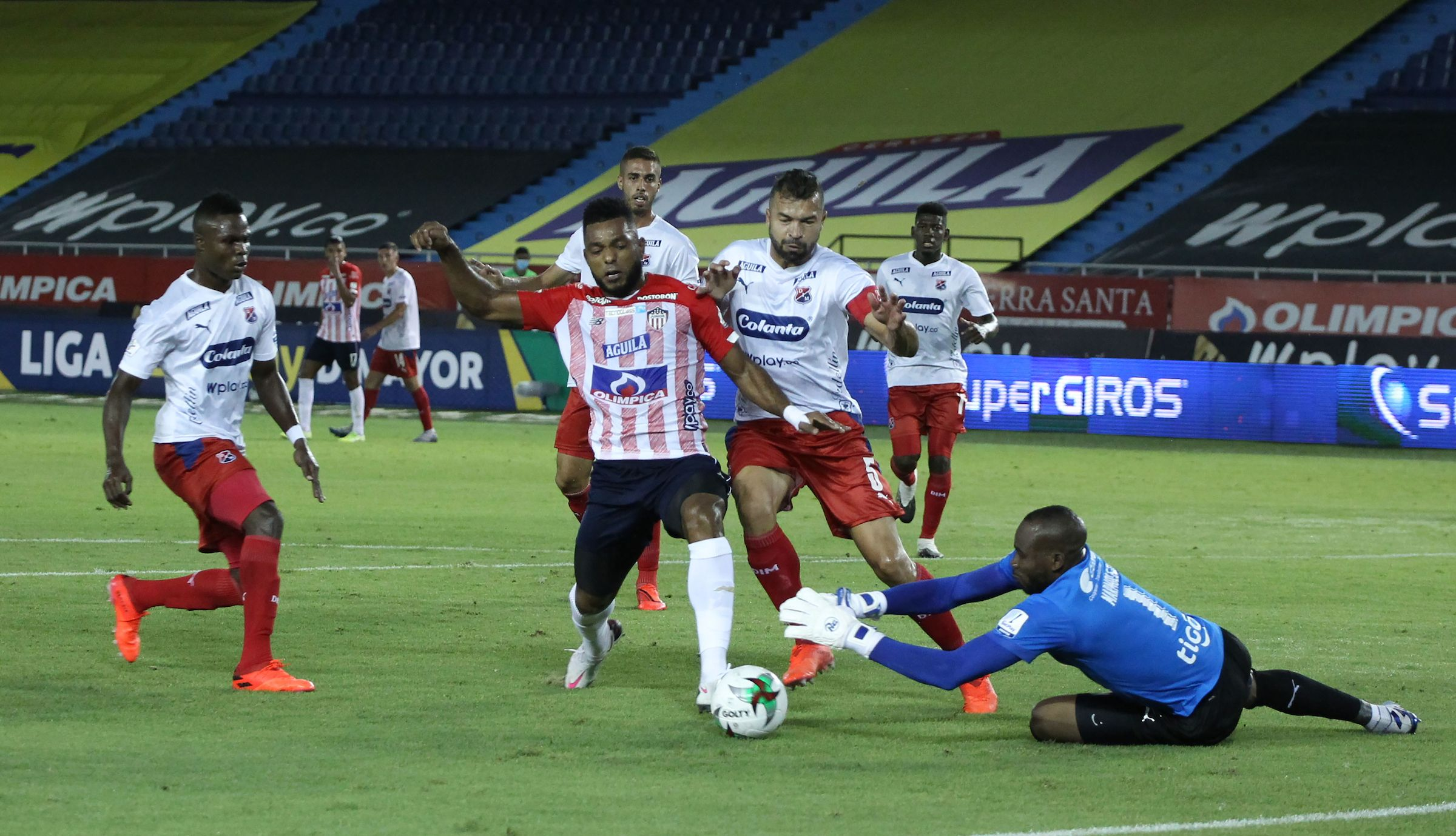 Junior tuvo su «revancha» y le ganó 1-0 al Independiente Medellín en la Liga BetPlay