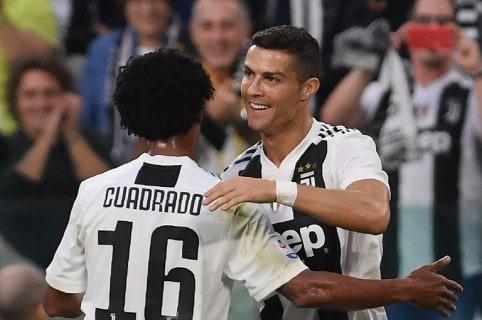 Cuadrado figura de Juventus en la victoria ante Inter por Copa Italia