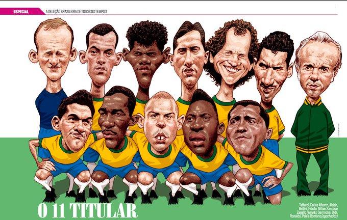 EL ONCE HISTÓRICO DE BRASIL. ¿QUIÉN FALTÓ?
