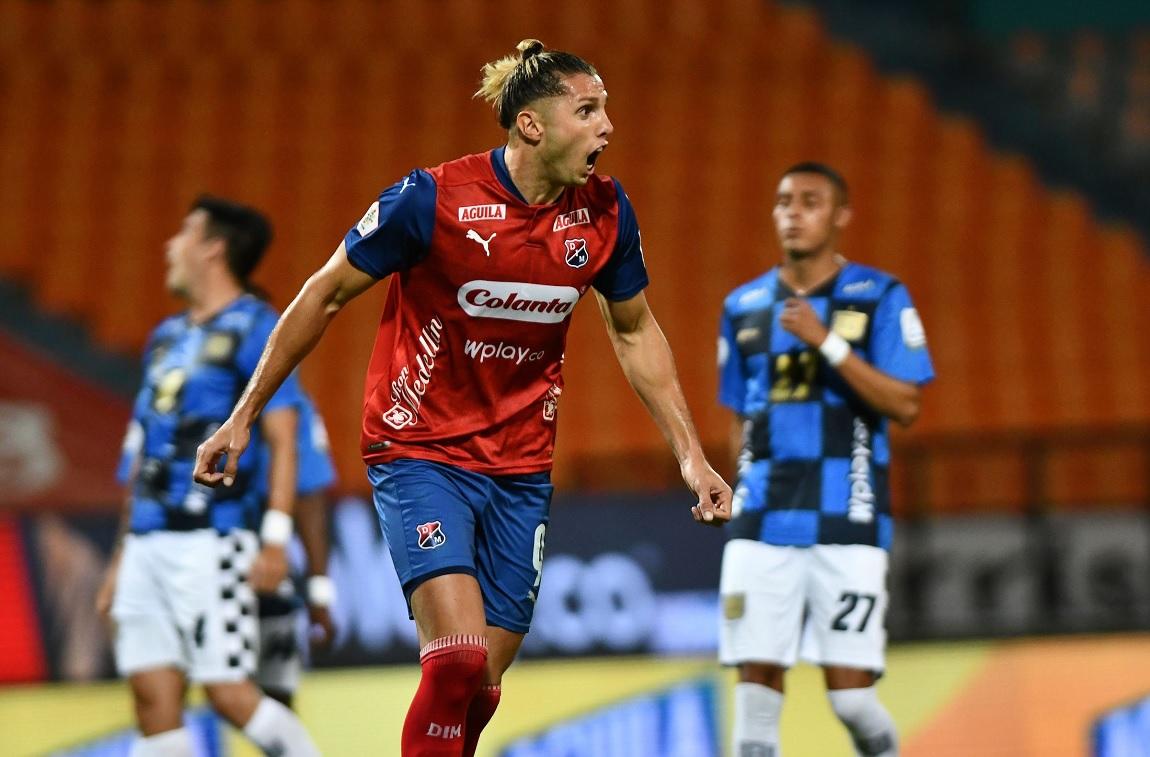 Solitario gol de Agustín Vuletich le bastó al Medellín para ganarle al Chicó
