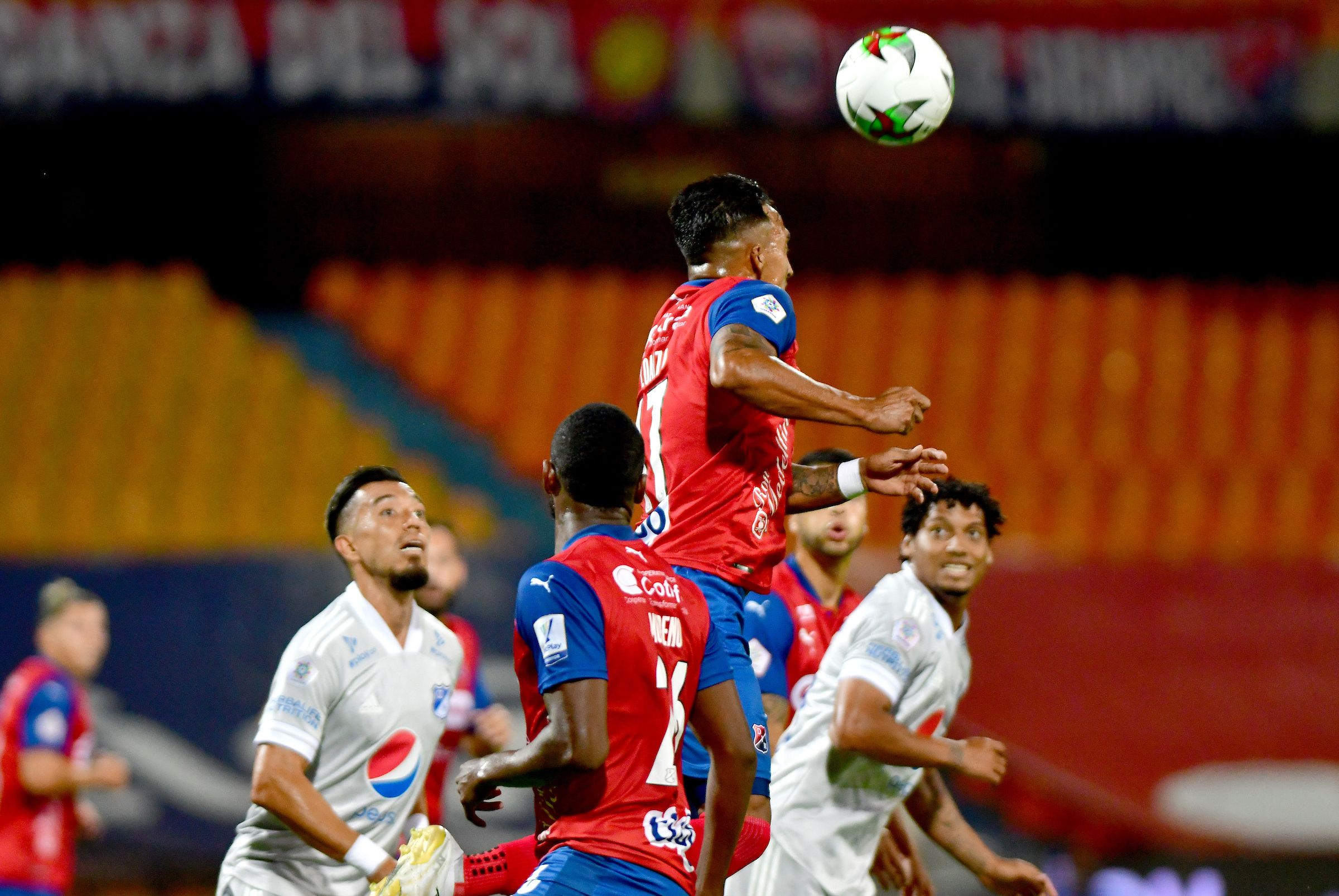 Deportivo Independiente Medellín y Millonarios quedaron debiendo goles