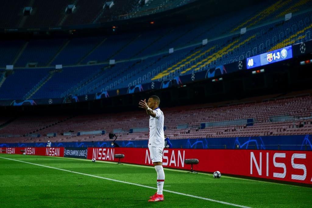 PSG derrotó a Barcelona y Mbappé hizo historia en el Camp Nou