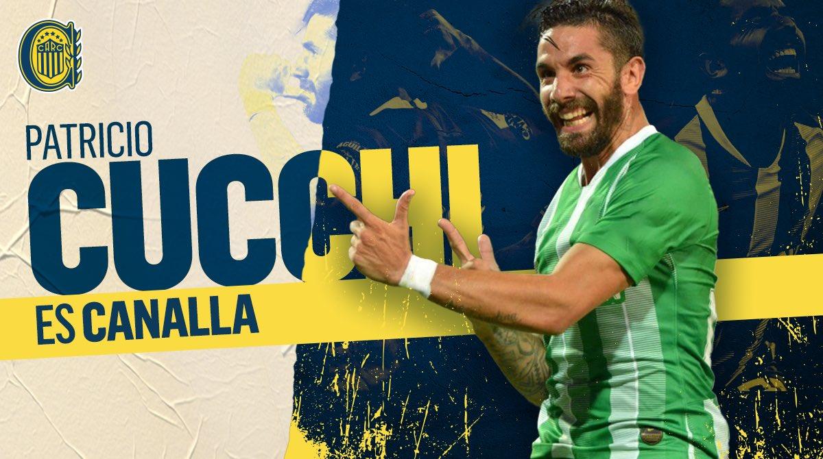 ¡Cucchi es Canalla! El delantero es nuevo jugador de Rosario Central