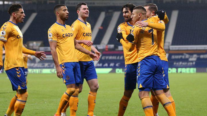 Sin James Rodríguez, Everton volvió a sumar en condición de visitante