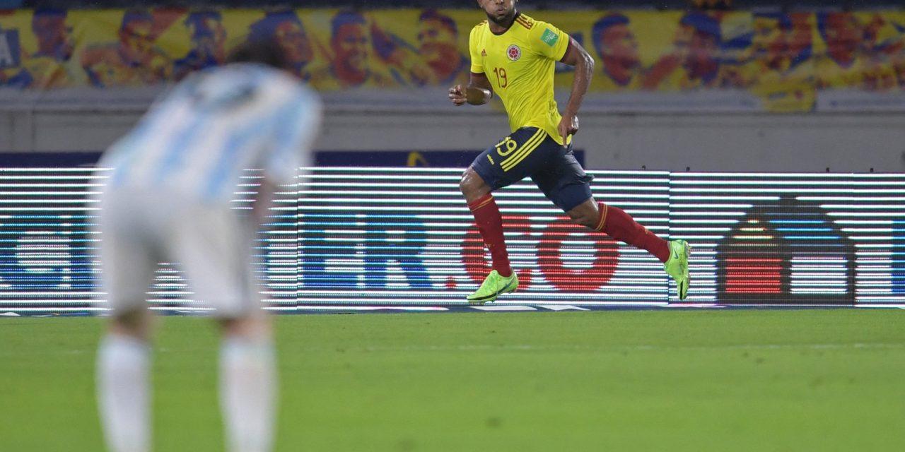 COLOMBIA RESCATÓ UN PUNTO SOBRE EL FINAL ANTE ARGENTINA