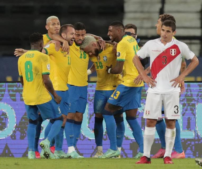 BRASIL VA POR SU DÉCIMA COPA AMÉRICA