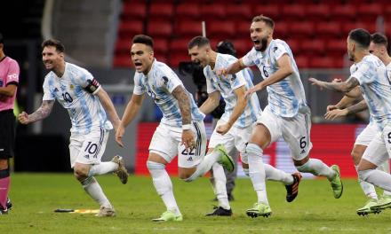 LAS BURLAS DE ARGENTINA TRAS LA VICTORIA ANTE COLOMBIA