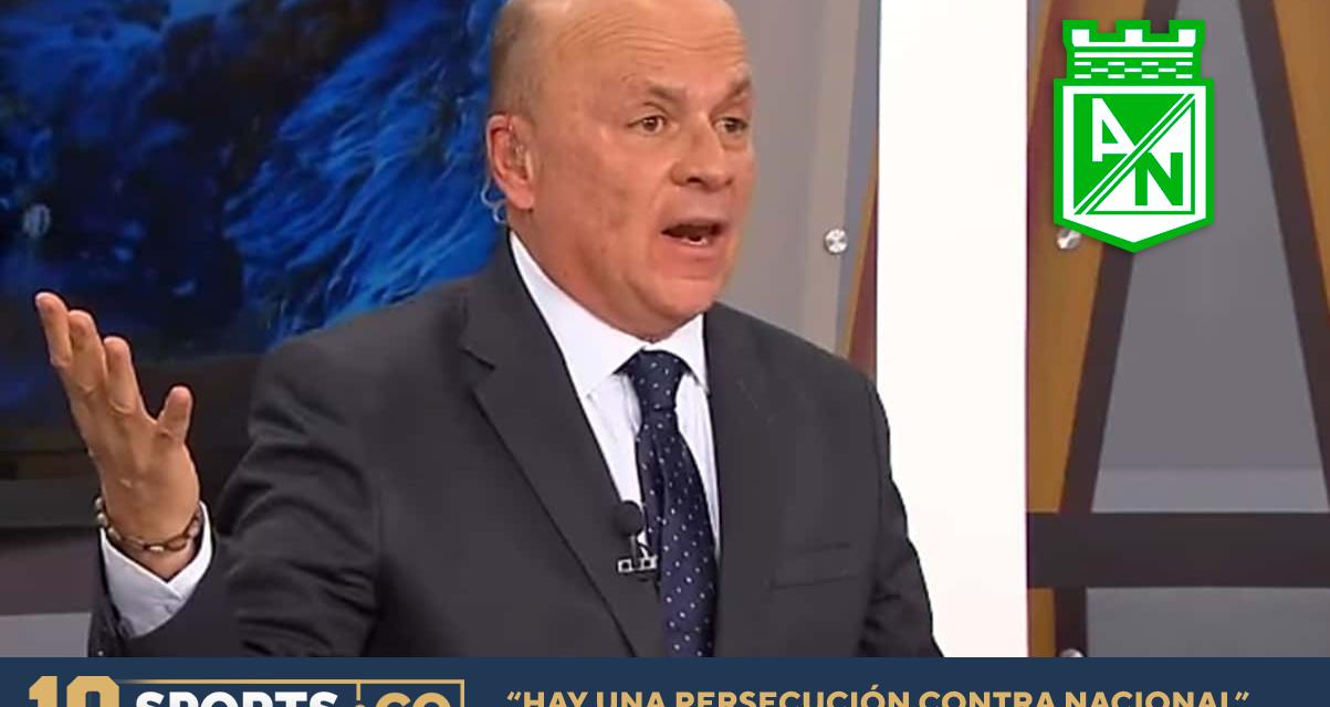 """""""CONTRA ATLÉTICO NACIONAL HAY UNA PERSECUCIÓN"""": CARLOS ANTONIO VÉLEZ"""