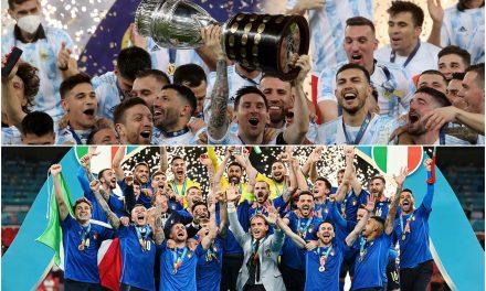 ARGENTINA E ITALIA: FINAL EUROAMERICANA