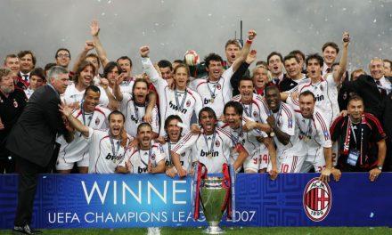 MILAN VUELVE A CHAMPIONS LEAGUE TRAS 7 AÑOS DE AUSENCIA