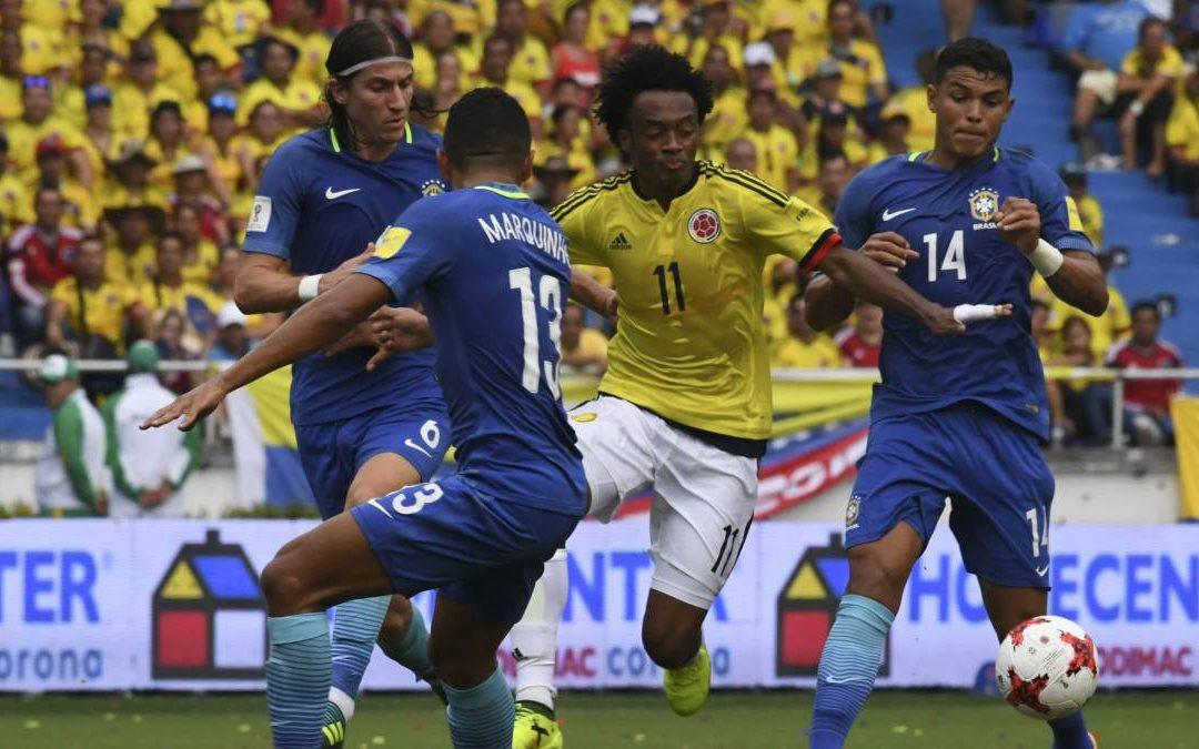 COLOMBIA VS BRASIL: HISTORIAL EN EL METROPOLITANO
