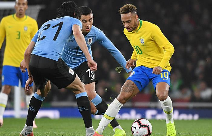 BRASIL VS URUGUAY, EL PARTIDO DE LA FECHA